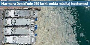 Marmara Denizi'nde 450 farklı nokta müsilaj incelemesi