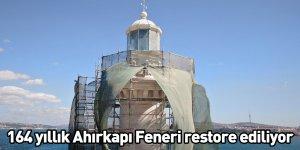 164 yıllık Ahırkapı Feneri restore ediliyor