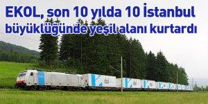 EKOL, son 10 yılda 10 İstanbul büyüklüğünde yeşil alanı kurtardı