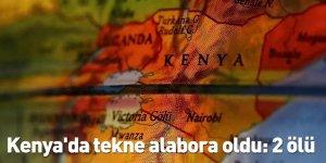 Kenya'da tekne alabora oldu: 2 ölü