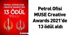 Petrol Ofisi MUSE Creative Awards 2021'de 13 ödül aldı