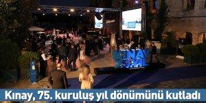 Kınay, 75. kuruluş yıl dönümünü kutladı