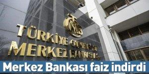 Merkez Bankası faiz indirdi