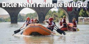 Dicle Nehri raftingle buluştu