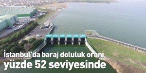 İstanbul'da baraj doluluk oranı yüzde 52 seviyesinde