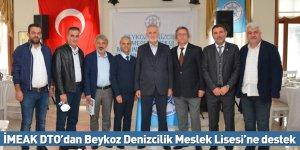 İMEAK DTO'dan Beykoz Denizcilik Meslek Lisesi'ne destek