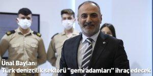 """Türk denizcilik sektörü """"gemi adamları"""" ihraç edecek"""