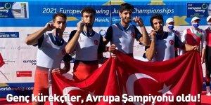 Genç kürekçiler, Avrupa Şampiyonu oldu!