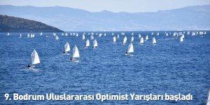 9. Bodrum Uluslararası Optimist Yarışları başladı