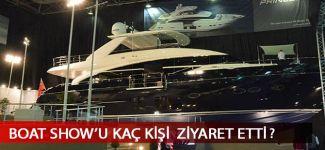 Boat Show'u 82 bin kişi ziyaret etti