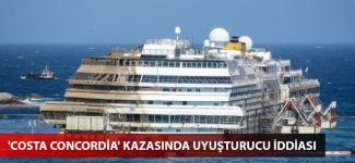 'Costa Concordia' kazasında uyuşturucu iddiası