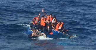 Ege'de mülteci botu battı: Çok sayıda ölü var