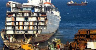 Gemi sökümü için Türkiye'den teknik destek