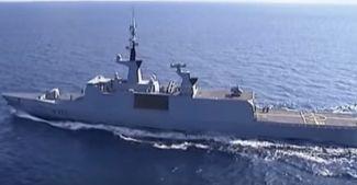 Fransız denizciler Libya kıyılarında iş başında