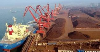 Çin limanlarında demir cevheri stokları arttı