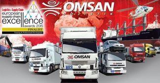OMSAN Lojistik, Avrupa'nın en iyilerinden oldu