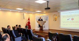 Tuzla Vergi Dairesi, Gisbir'de bilgilendirme toplantısı gerçekleştirdi