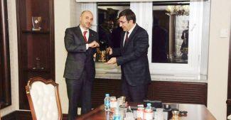 GİSBİR, Kalkınma Bakanı Cevdet Yılmaz'ı ziyaret etti