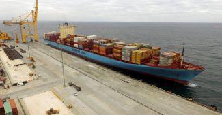 Asyaport Limanı, MAERSK gemisini ağırladı