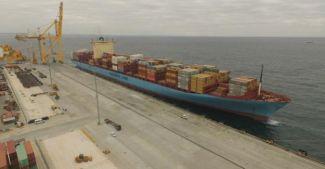 Asyaport Limanı Georg MAERSK gemisini ağırladı