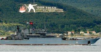 Türk Boğazları'nda savaş gemileri hareketliliği yaşanıyor