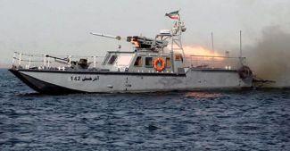 İran, ABD gemisine füze fırlattı