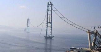Körfez Köprüsü'nde deniz üzerindeki ilk tabliye 15 Ocak'ta yerleştirilecek