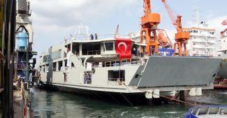 'Ahmet Piriştina' denize indirildi