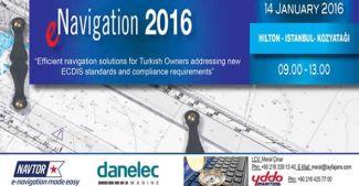 E-Navigation 2016 hazırlıkları sürüyor