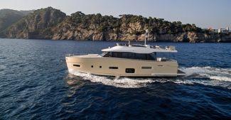 İtalyan yat devi Azimut Yachts'ın yeni modeli Türkiye' de