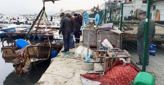 Bursa'da batık tekne tehlikesi