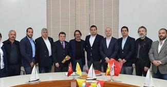 Teos Marina ile Göztepe işbirliği anlaşması