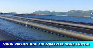 Kıbrıs su temini projesindeki sorunlar çözülüyor