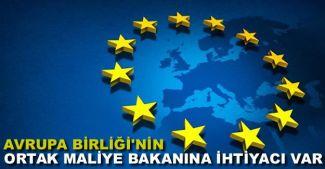 'Avrupa Birliği'nin ortak yönetim ve hazineye ihtiyacı var'