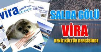 Salda Gölü 'Vira Deniz Kültür Dergisi'nde