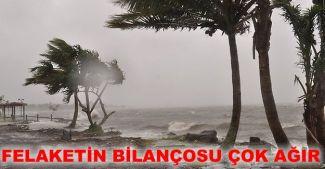 Fiji Adası'nı hortum vurdu, bilanço ağır