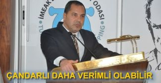 Yusuf Öztürk: Çandarlı Limanı serbest ticaret bölgesi olabilir