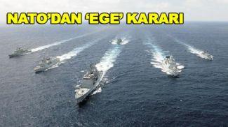 NATO üyeleri 'Ege Denizi' konusunda karar birliğine vardı