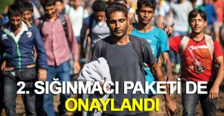 Alman parlamentosu 2. Sığınmacı Paketi'ni de onayladı