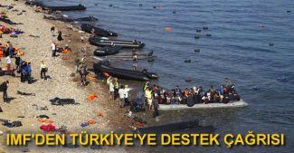 IMF'den mülteci krizi için küresel işbirliği çağrısı