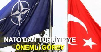 NATO'dan Türkiye'ye önemli görev