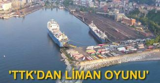 Zonguldak Belediyesi'nden TTK'ya liman suçlaması