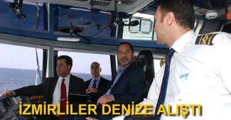 İzmirlilerin deniz kullanımı giderek artıyor