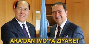 Suat Hayri Aka'dan IMO Genel Sekreteri'ne ziyaret