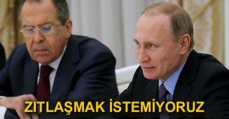 Sergey Lavrov: Rusya kimseyle zıtlaşmak istemiyor