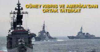 Güney Kıbrıs ve Amerika'dan ortak tatbikat