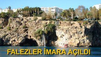 Çevre Bakanlığı'ndan Antalya falezlerine yapı izni