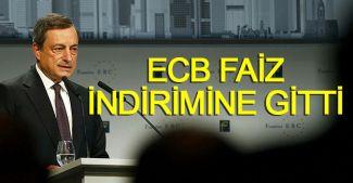 Avrupa Merkez Bankası faiz indirimine gitti