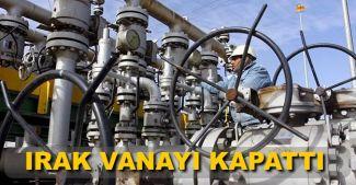 Irak, Kerkük-Ceyhan'a petrol sevkiyatını kesti