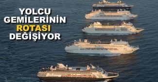 Kruvaziyerler Akdeniz'in tamamından çıkmak istiyor